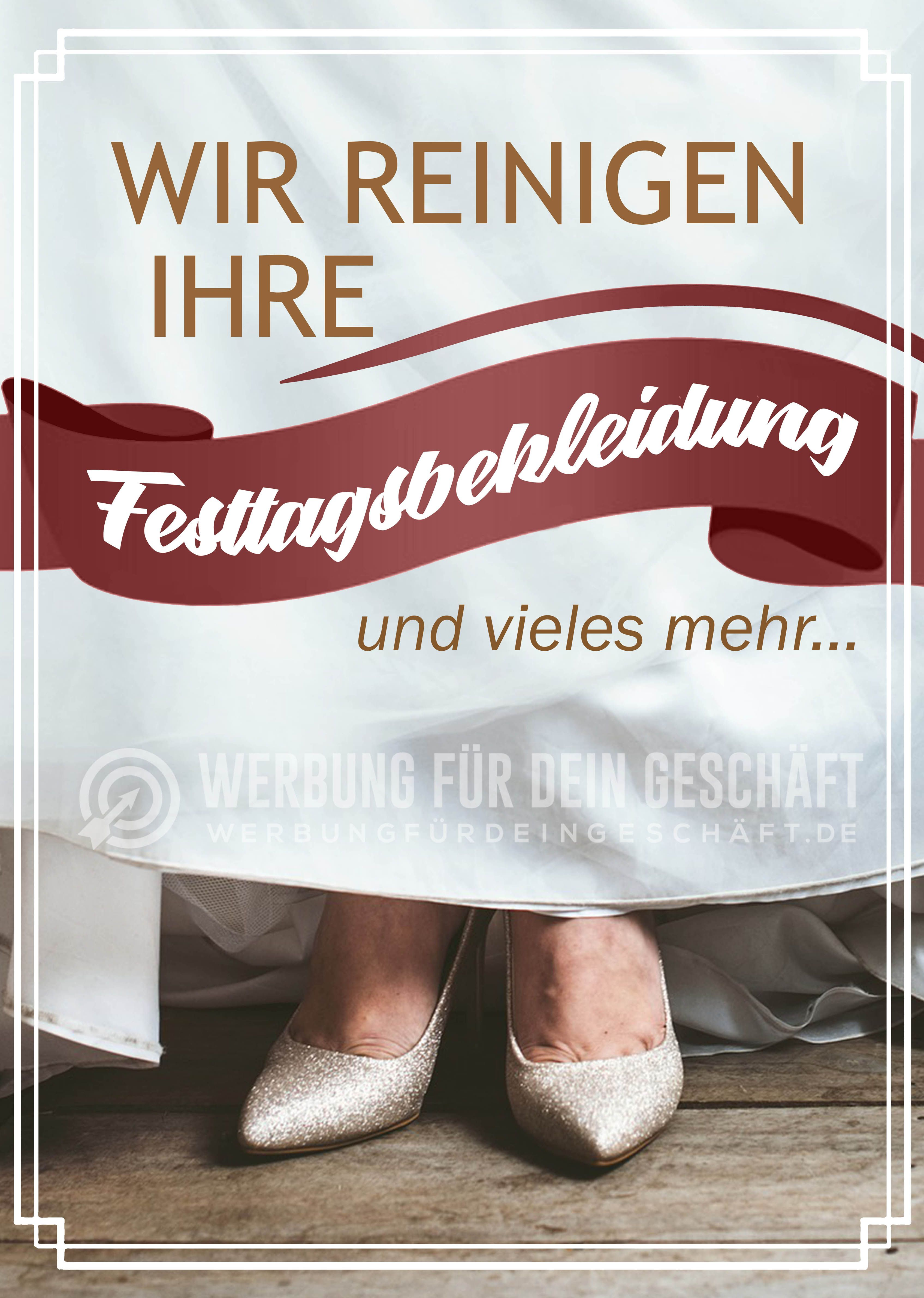 """Photo of This advertising poster """"We clean your holiday clothing – and …"""