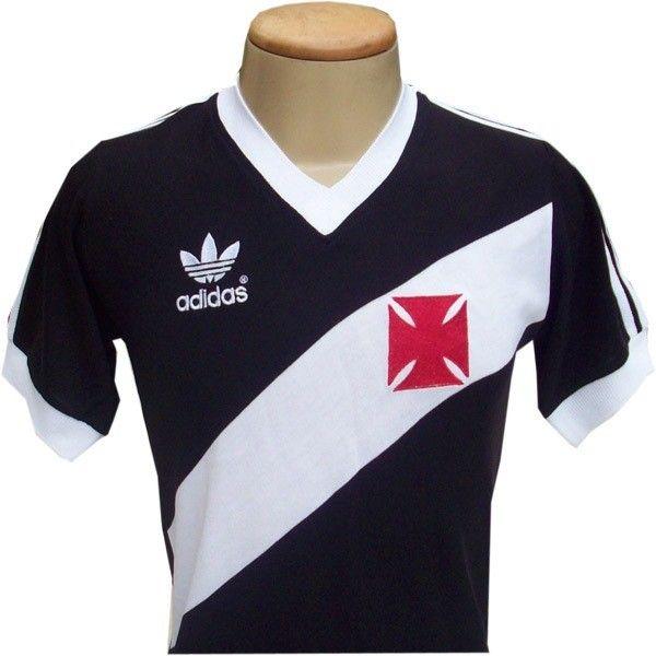 9737fd743ed87 Camisa clássica da Adidas do clube de Regatas Vasco da Gama. Futebol  Brasileiro