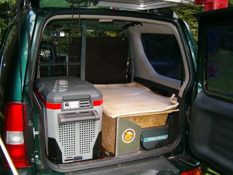 easy conversion for jimny camper suzuki jimny. Black Bedroom Furniture Sets. Home Design Ideas