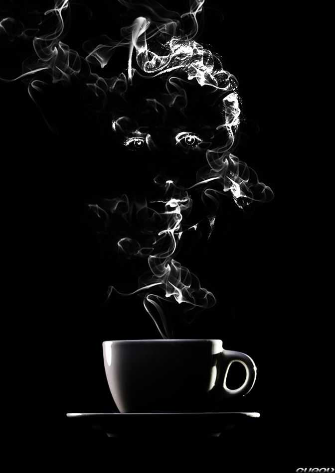 I See A Face In The Steam Anyone Else Needed The Coffee