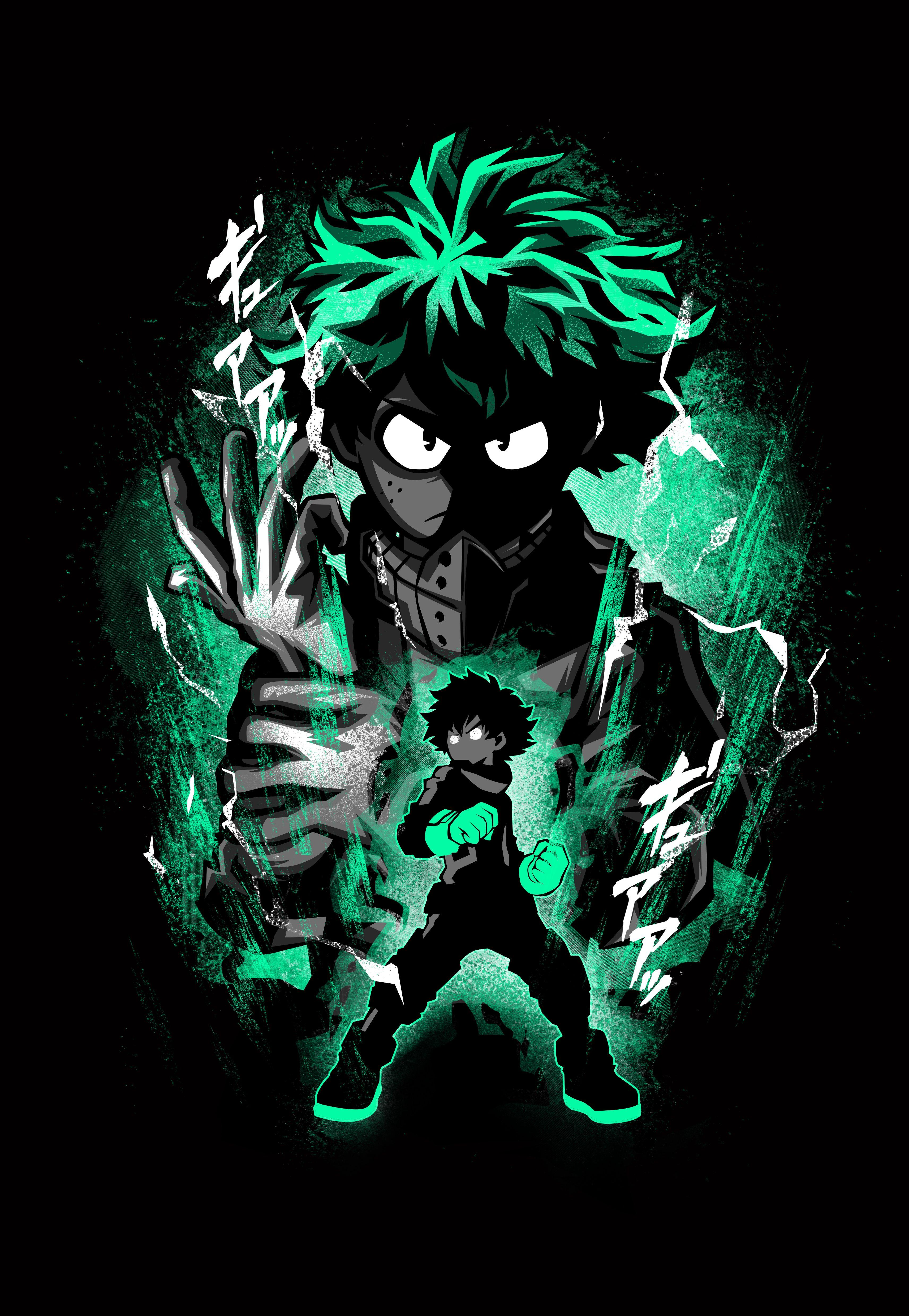 Hero Deku Hero My Hero Academia Episodes Hero Wallpaper