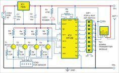 Wireless Water Level Indicator Without Microcontroller Full Diy Project Microcontrollers Wireless Electronics Projects