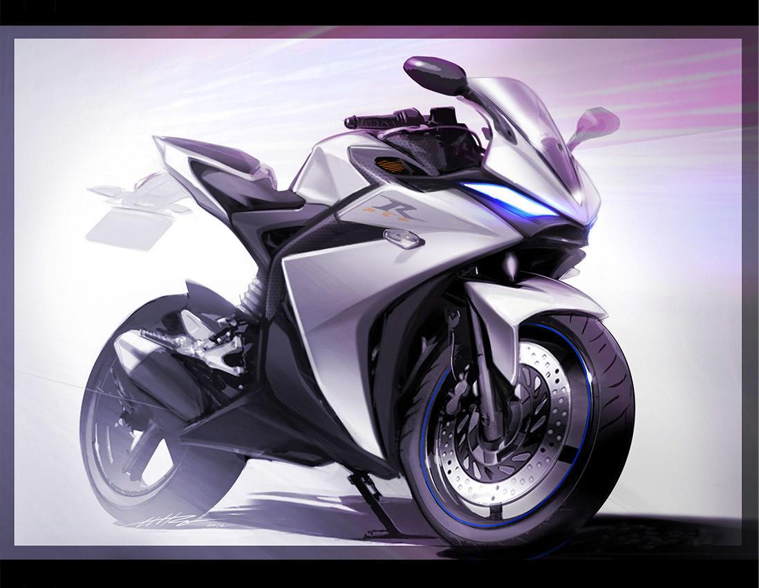 Yamaha Yzf R25 Design Concept Motorsiklet Resimler Bisiklet