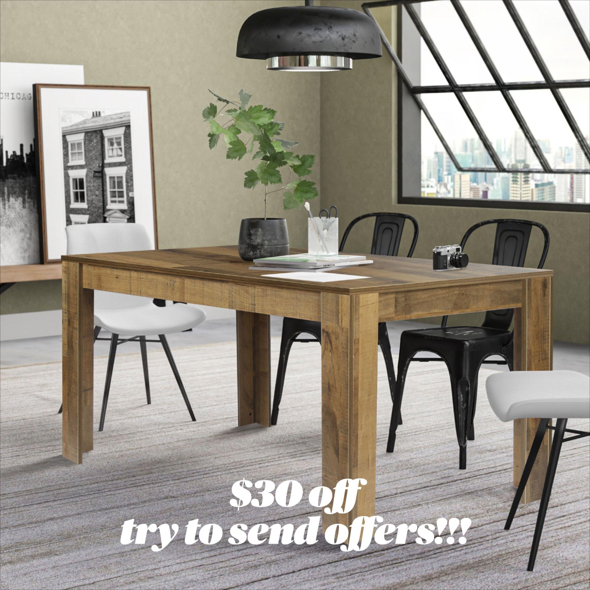 #diningtable #kitchentable #diningroomtable #homekitchen #rectangulartable #walnutcolortable #kitchenisland #homekitchenidea #ebaytable #ebayfurniture