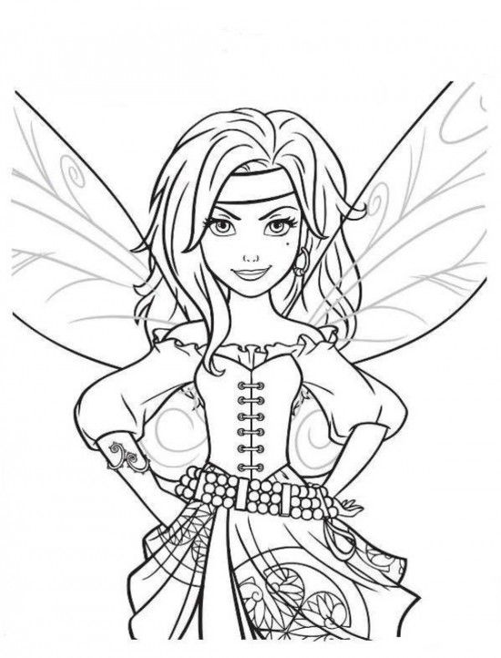 baby tinkerbell coloring pages - photo#40