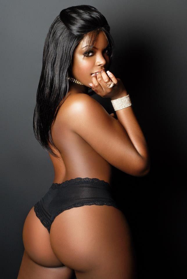 Ebony round booty