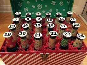 Chasin' Mason : Beer Advent Calendar #wineadventcalendardiy