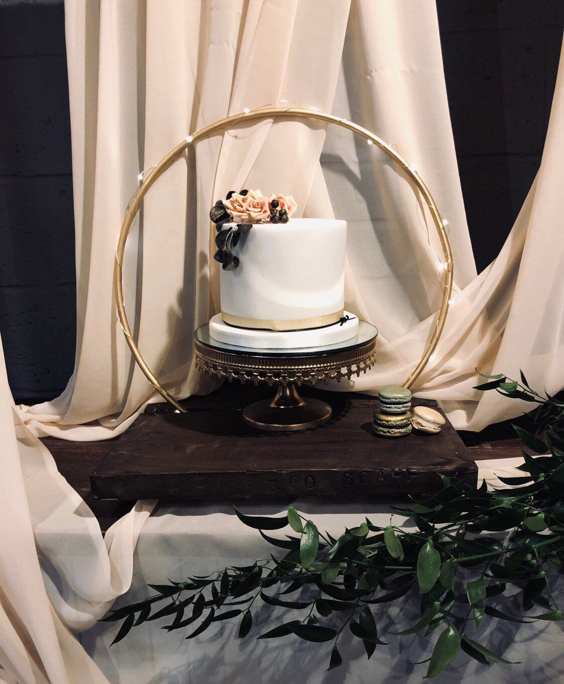 Cake Hoop Stand, Hoop And Base Sold Separately