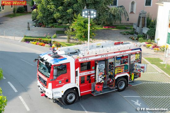 Stmk: Rosenbauer RLF-A 2000/200 auf MAN-TGM 18.340 für FF Mooskirchen