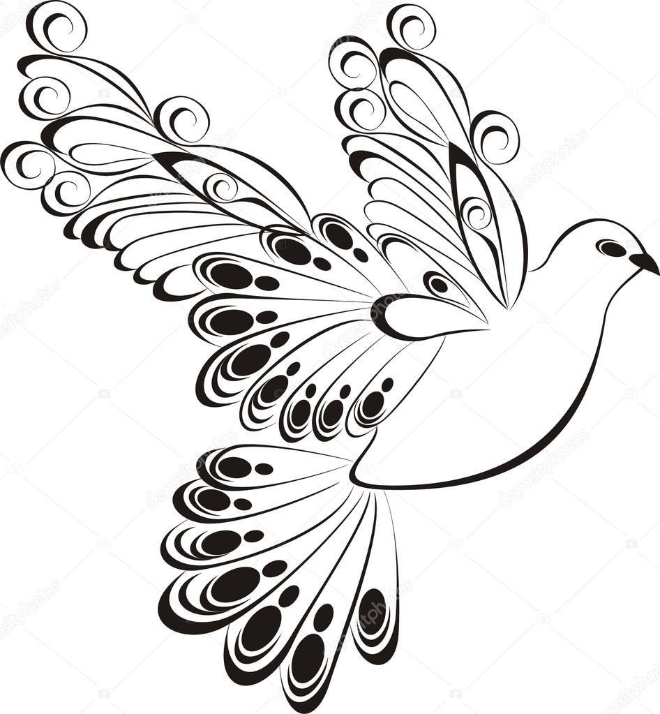 Afbeeldingsresultaat Voor Silhouetten Vredesduif Vredesduif Silhouet Dieren