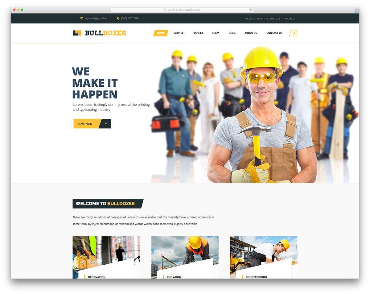 13-bulldozer-Templates-para-Empresas-de-Construção-Responsive ...