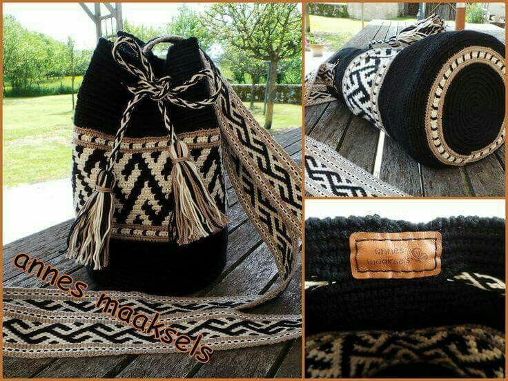 Mochila | crochet bolsos | Pinterest | Gehäkelte taschen, Körbchen ...