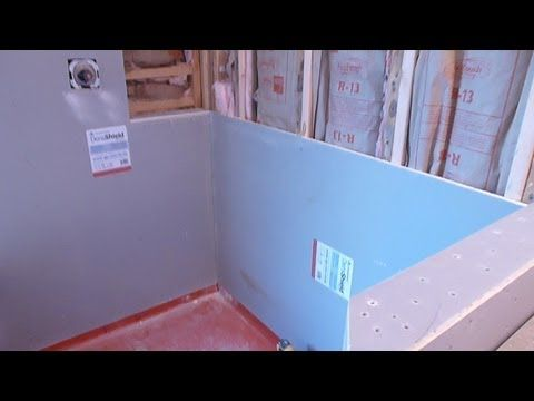 How To Install Shower Surround Tile Backer Board Durock Or Cement