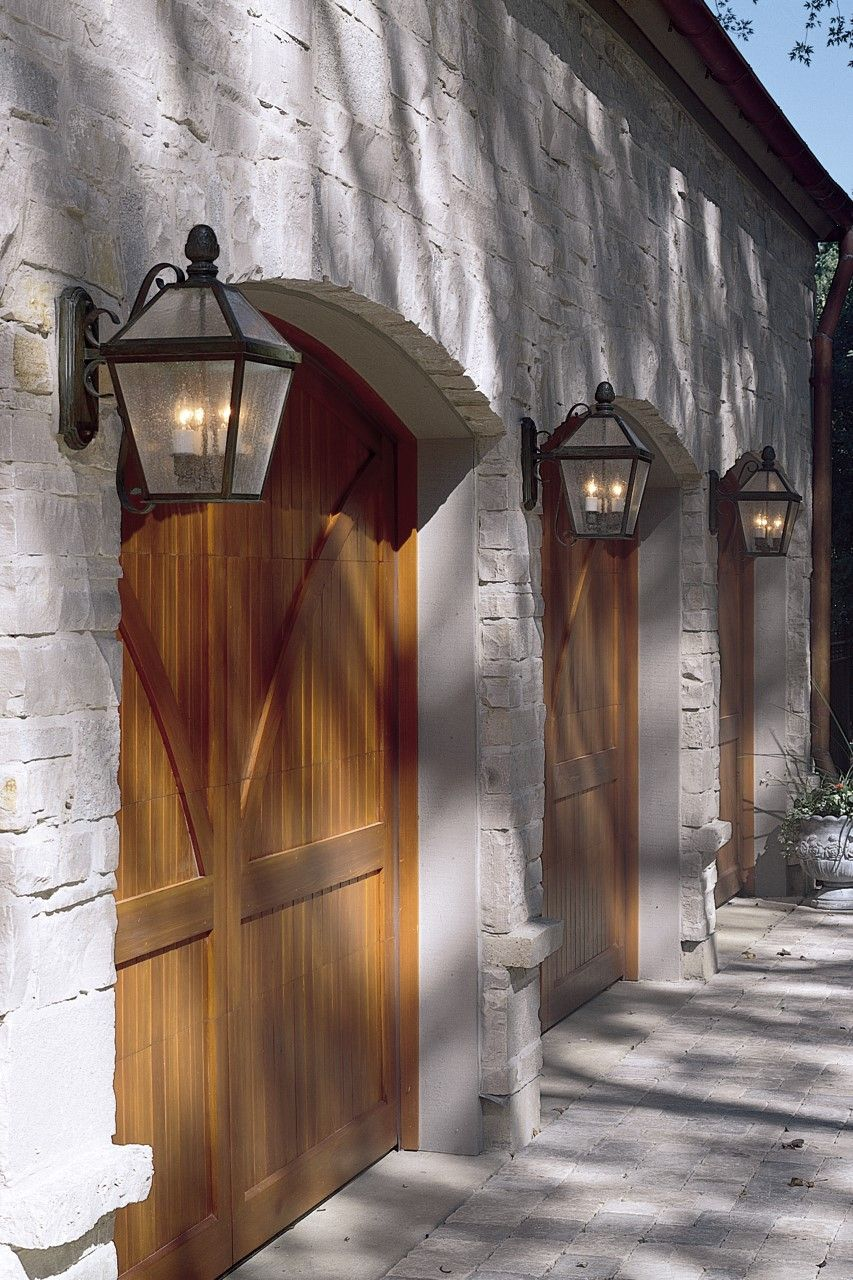 "Lantern 12"" Wide Scrolled Arm Exterior Wall Light"