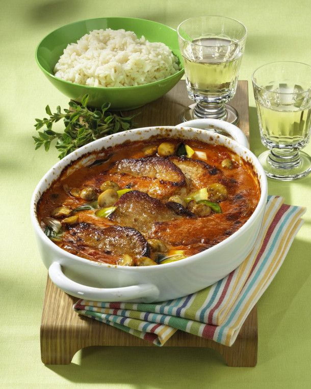 Zigeuner-Sahne-Schnitzel Rezept   Schnitzel und mehr, Zigeuner und ...