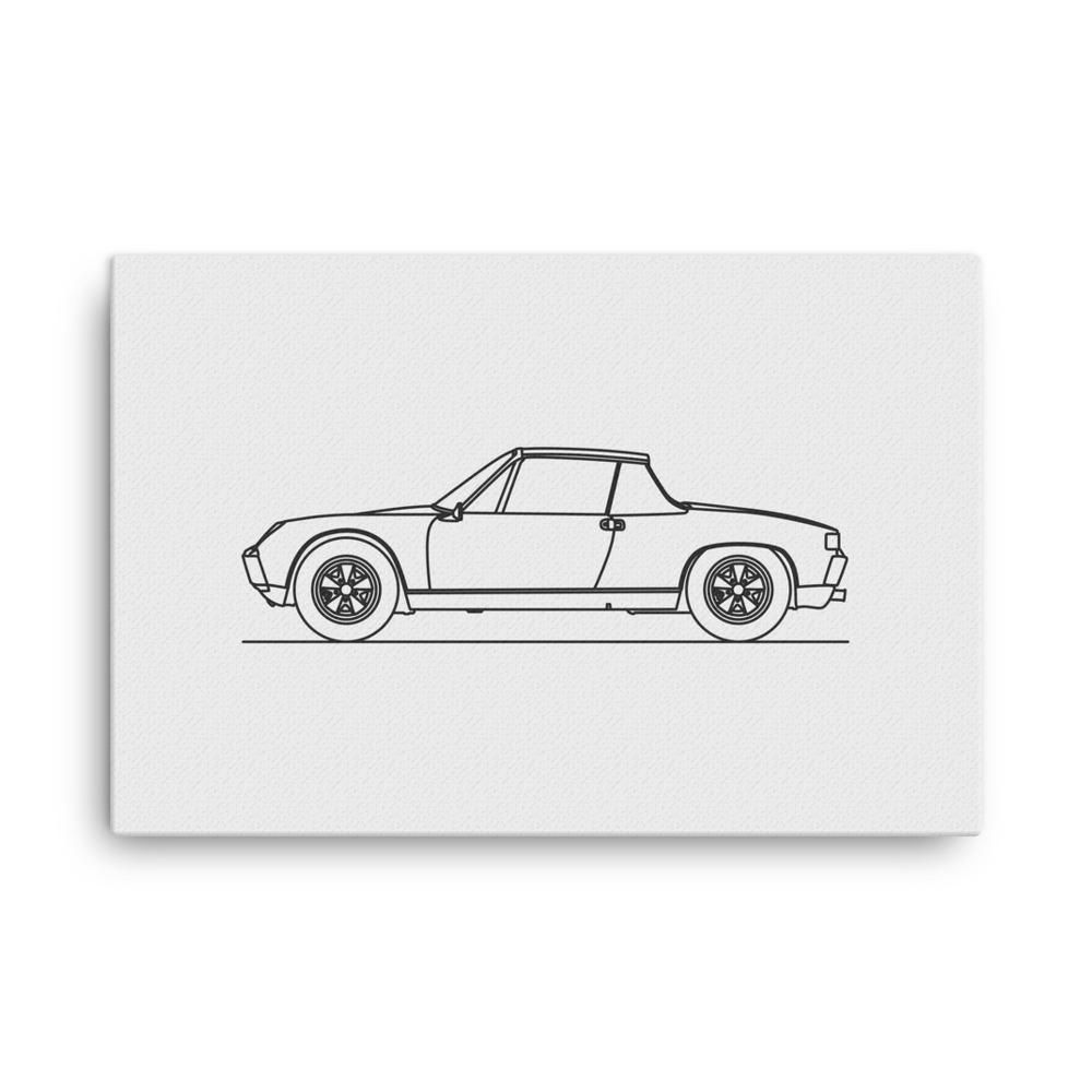 minimal line art canvas canvases and products