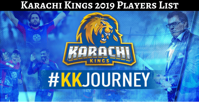 The Karachi Kings 2019 Team Squad With Complete Players List For Psl 2019 Karachi Kings Squad For Psl 2019 Has Been Finalized In Th Karachi Team Player League