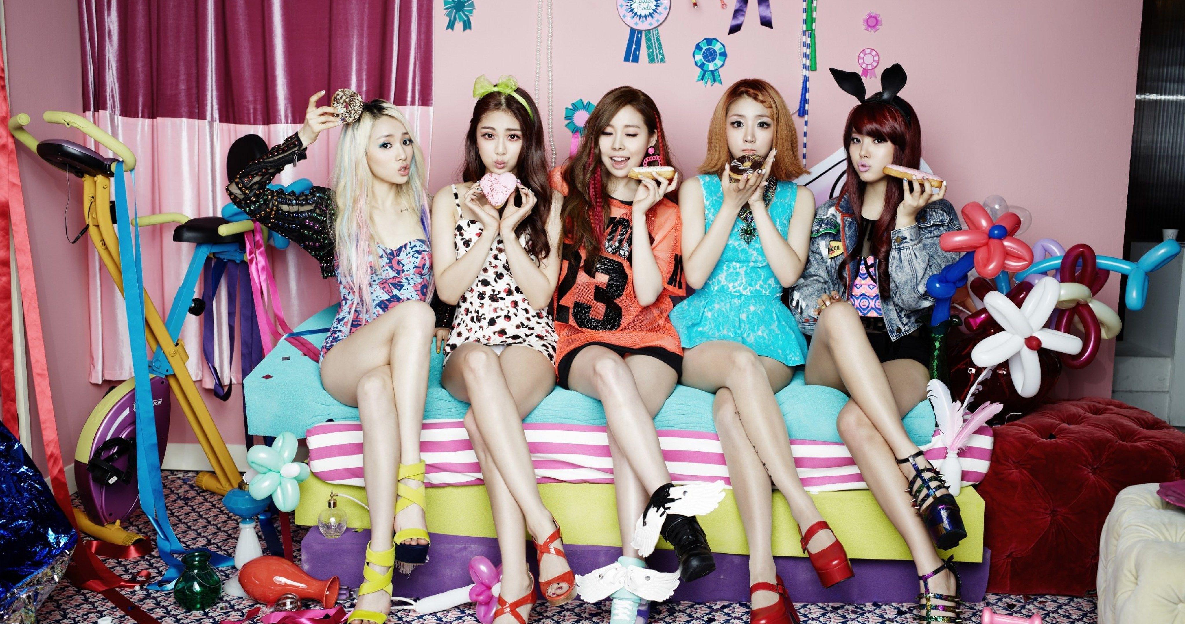 Ladies Code K Pop Music 4k Ultra Hd Wallpaper Ololoshenka