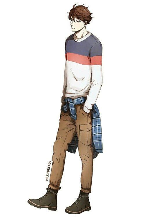 Oikawa In Casual Clothes Milkybreads Tumblr Com Cute Anime Boy Haikyuu Anime Guys