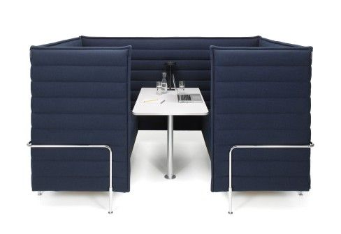 Alcove Cabin 2 for Vitra   Banquet seat   Pinterest   Alcove, Cabin ...