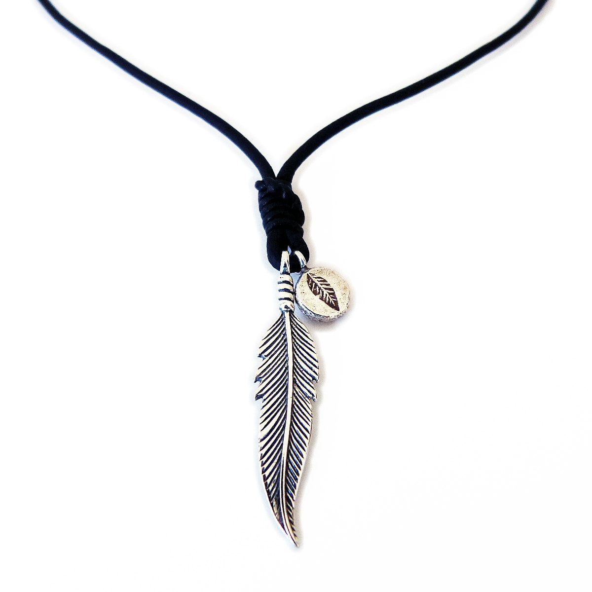 Leather Necklace For Men Women