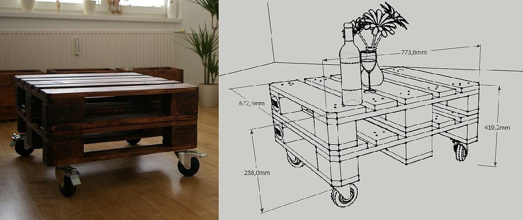 Netradičný nábytok z prepravných paliet | nábytok