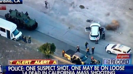 When Liberal Gun Control Laws Kill=> San Bernardino Shooters Had Time to Reload During Attack (VIDEO)  Jim Hoft Dec 2nd, 2015