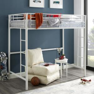 Premium ContemporaryTransitional Metal Twin Loft Bed