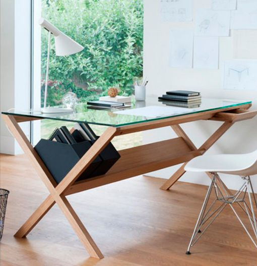Vuelven los muebles de madera clara - Decoratrix Blog de - diseo de escritorios