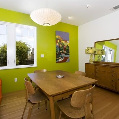 A bold accent wall in Wasabi Green | My future mansion | Pinterest ...