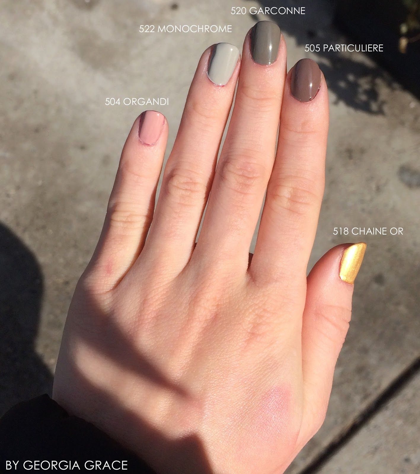 Chanel New Le Vernis Longwear Collection Swatches Amp Review Nails U 241 As