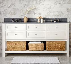 Bathroom Vanities Bathroom Sinks Bath Vanity Sinks Pottery Barn Double Sink Vanity Furniture Clearance Double Sink