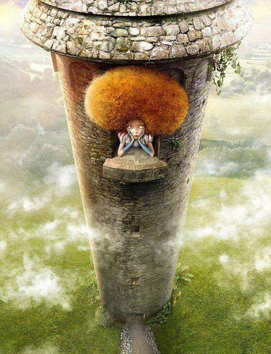 rapunzel | Arte dell'illustrazione, Raperonzolo e Bambino ...