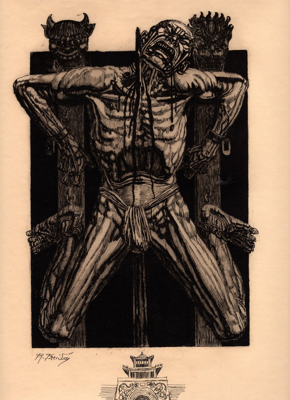 Le jardin des supplices d 39 octave mirbeau illustr par - Octave mirbeau le jardin des supplices ...