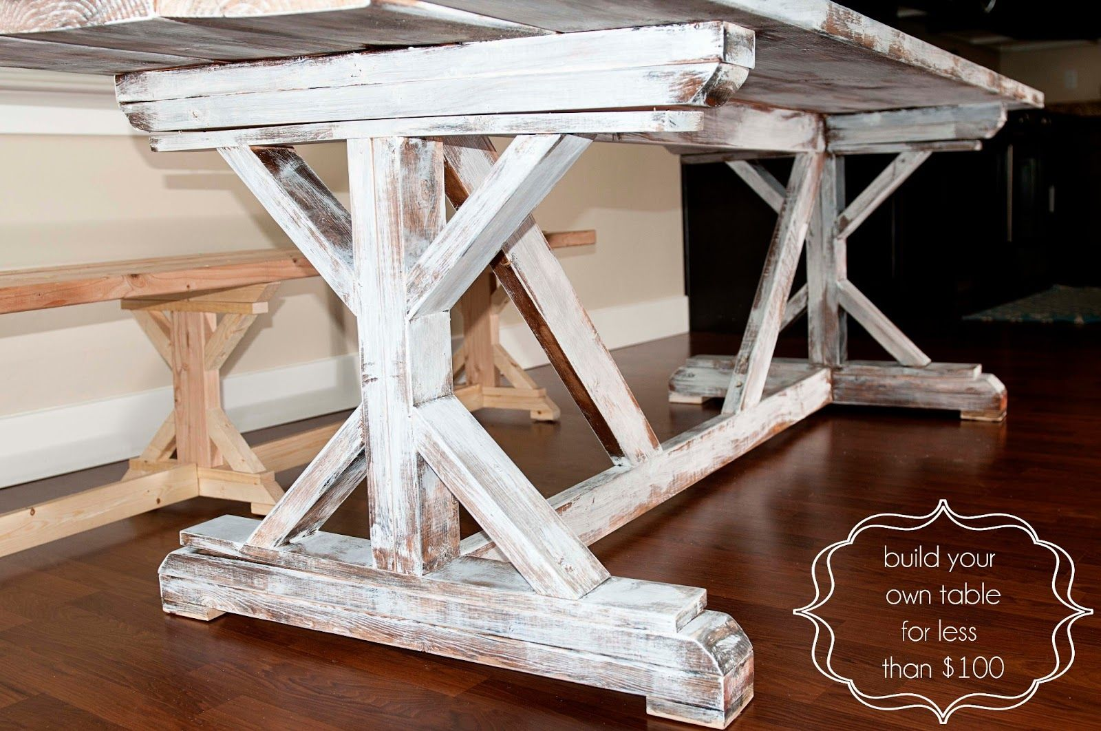 Carissa Miss DIY Farmhouse Table Finish