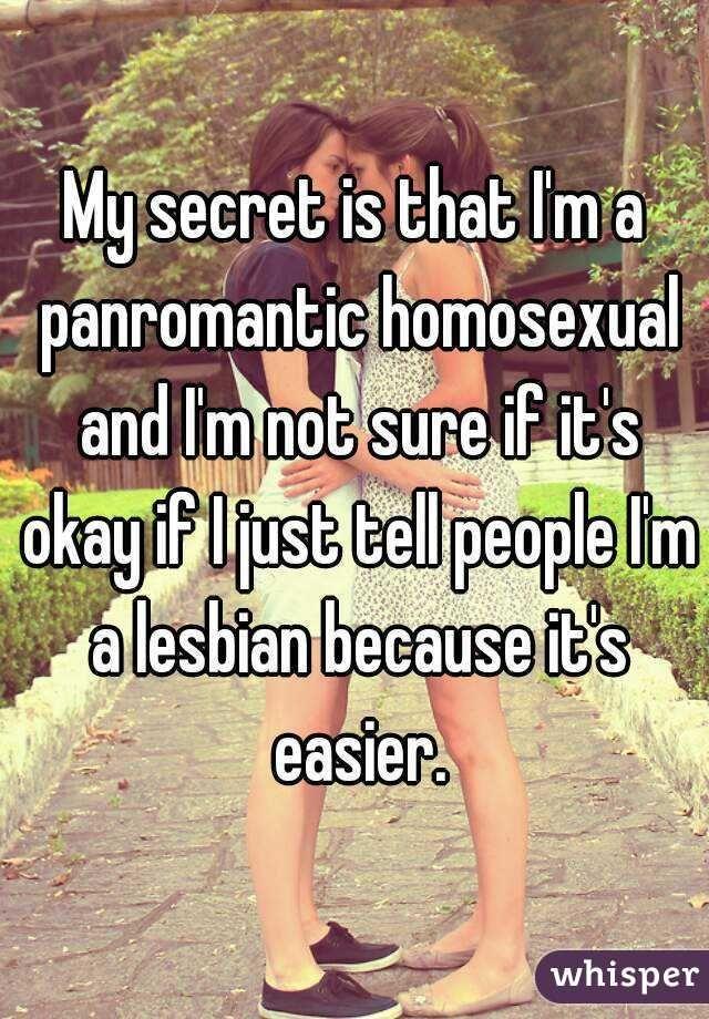 Panromantic lesbian