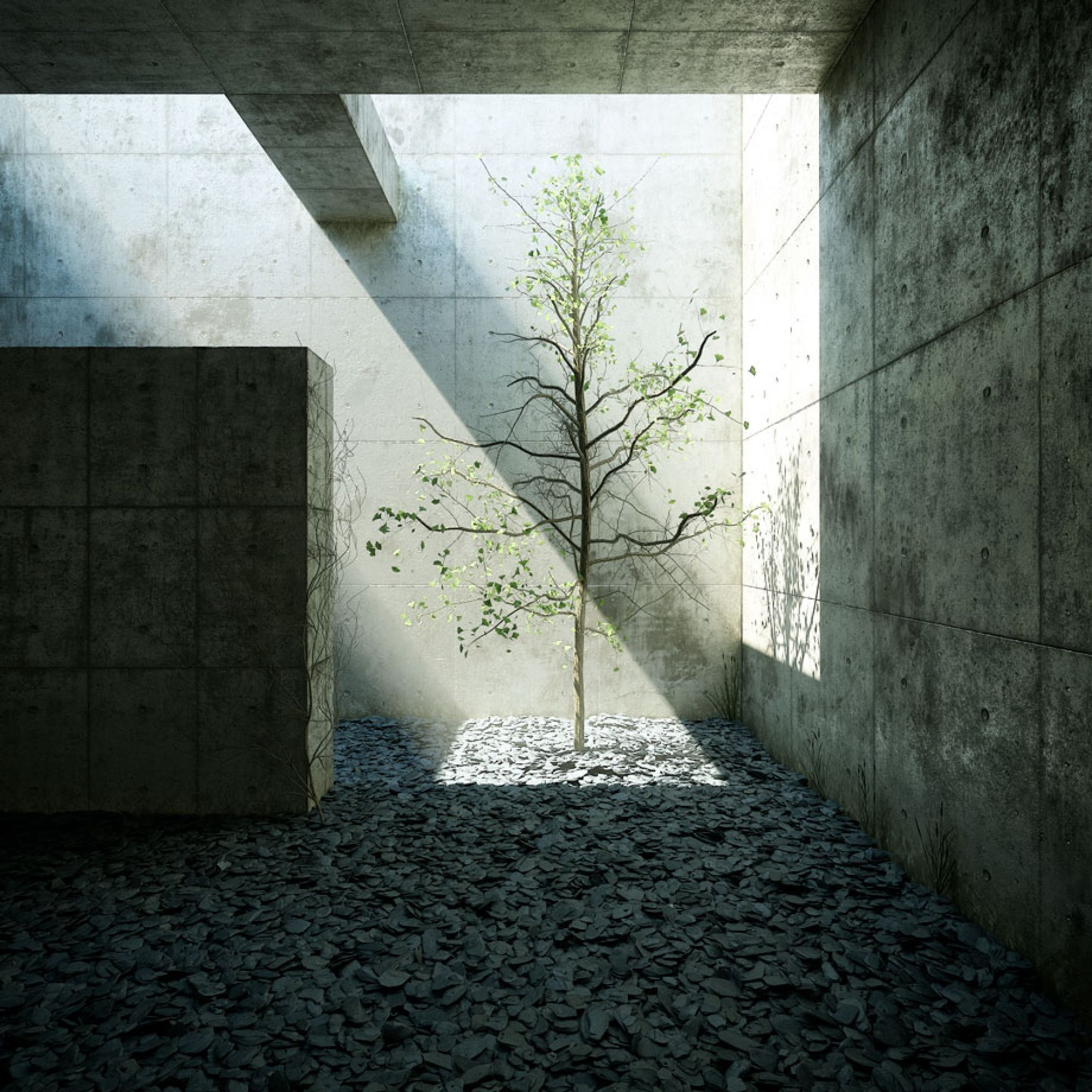 Ideal Work / Tadao Ando | structure | Pinterest | Design ...