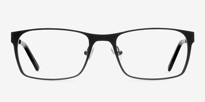 723e81d9658b3 Dublin Matte Black Metal Eyeglasses from EyeBuyDirect. A fashionable frame  with great quality and an