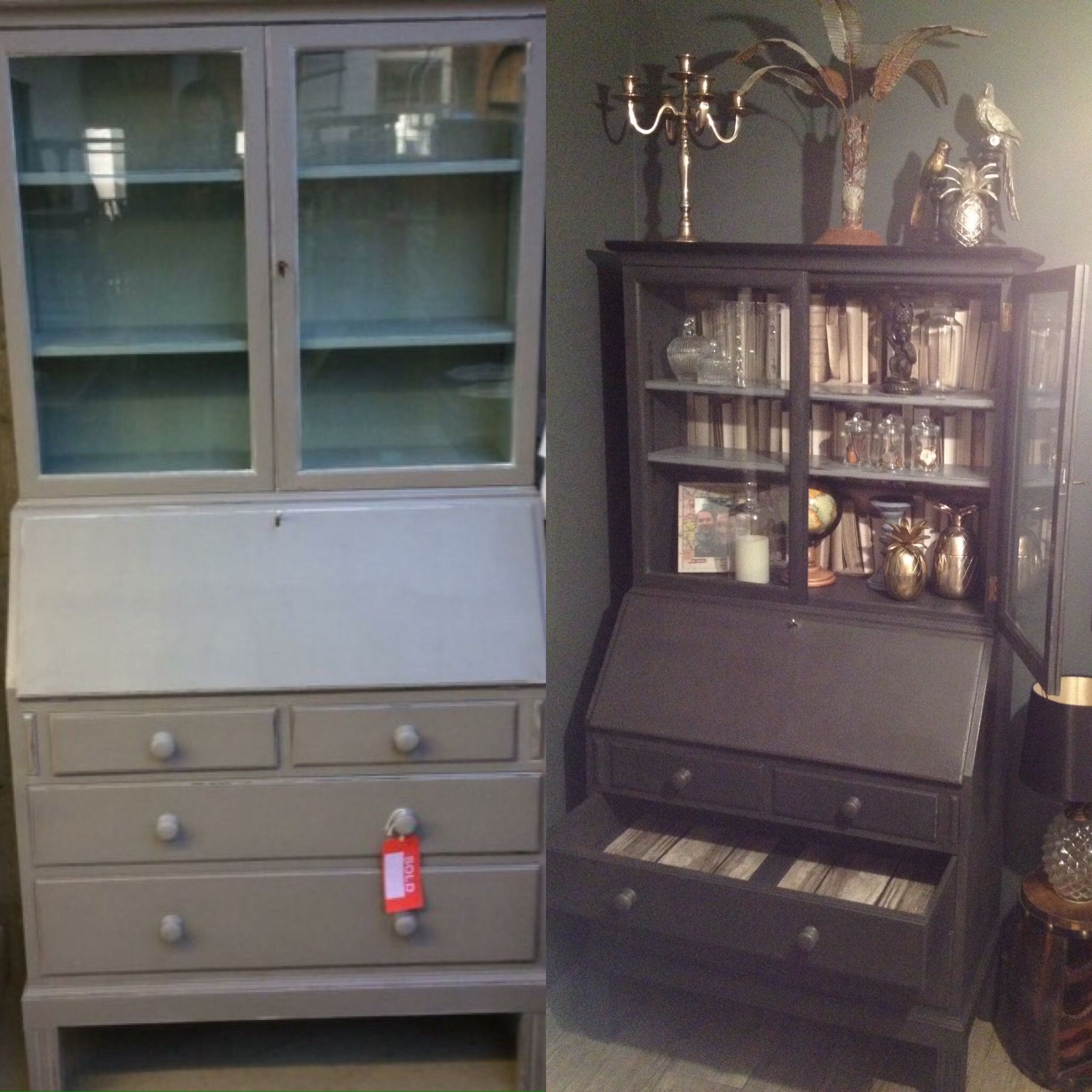 Make Over Of A Dresser I Had Found In A