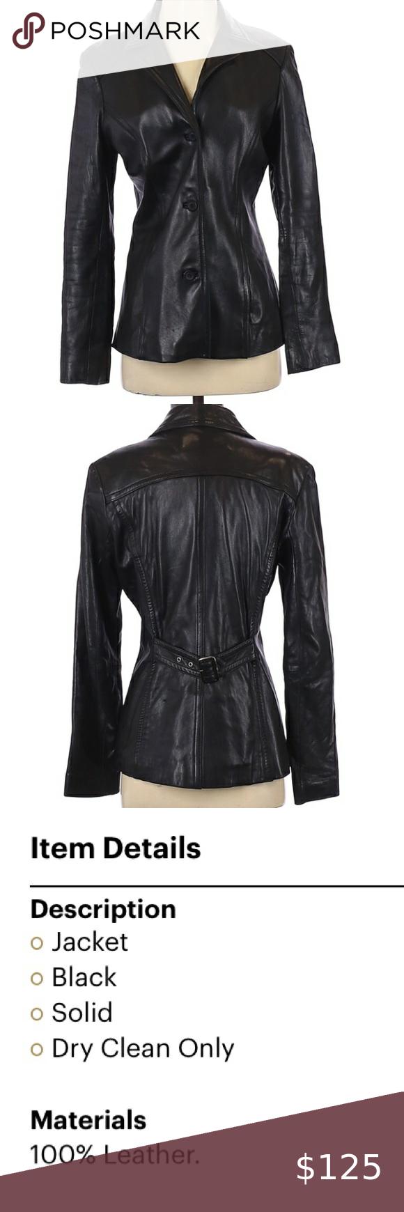 Jones New York Leather Black Jacket Small In 2021 Leather Jacket Black Dark Brown Leather Jacket Vintage Leather Jacket [ 1740 x 580 Pixel ]