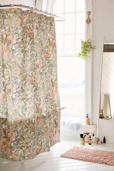 Copper Shower Curtain Hooks Set Floral Shower Curtains Urban