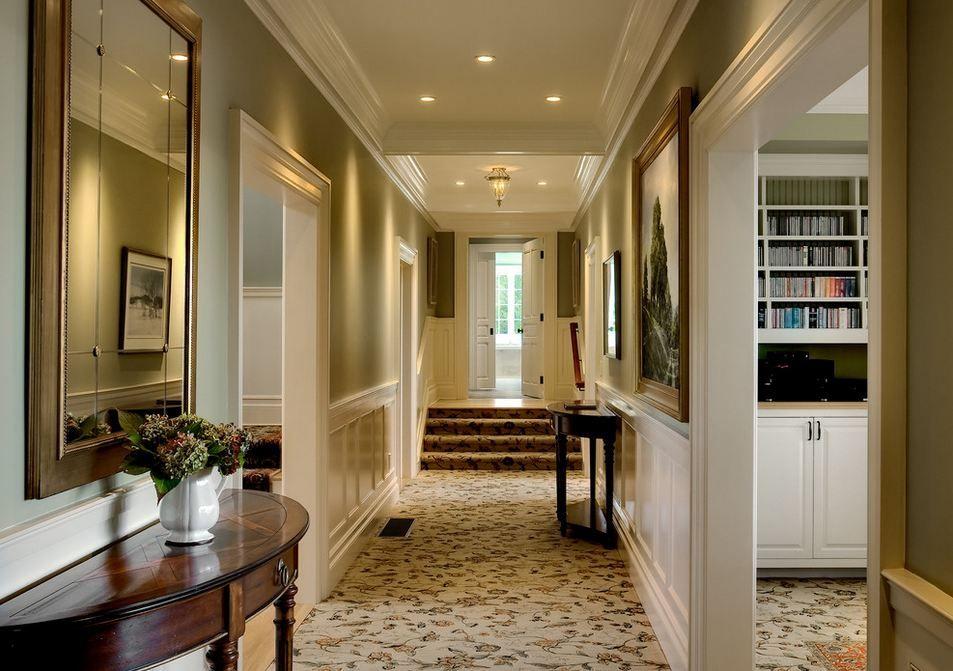 коридор узкий в частном доме фото как понять, что