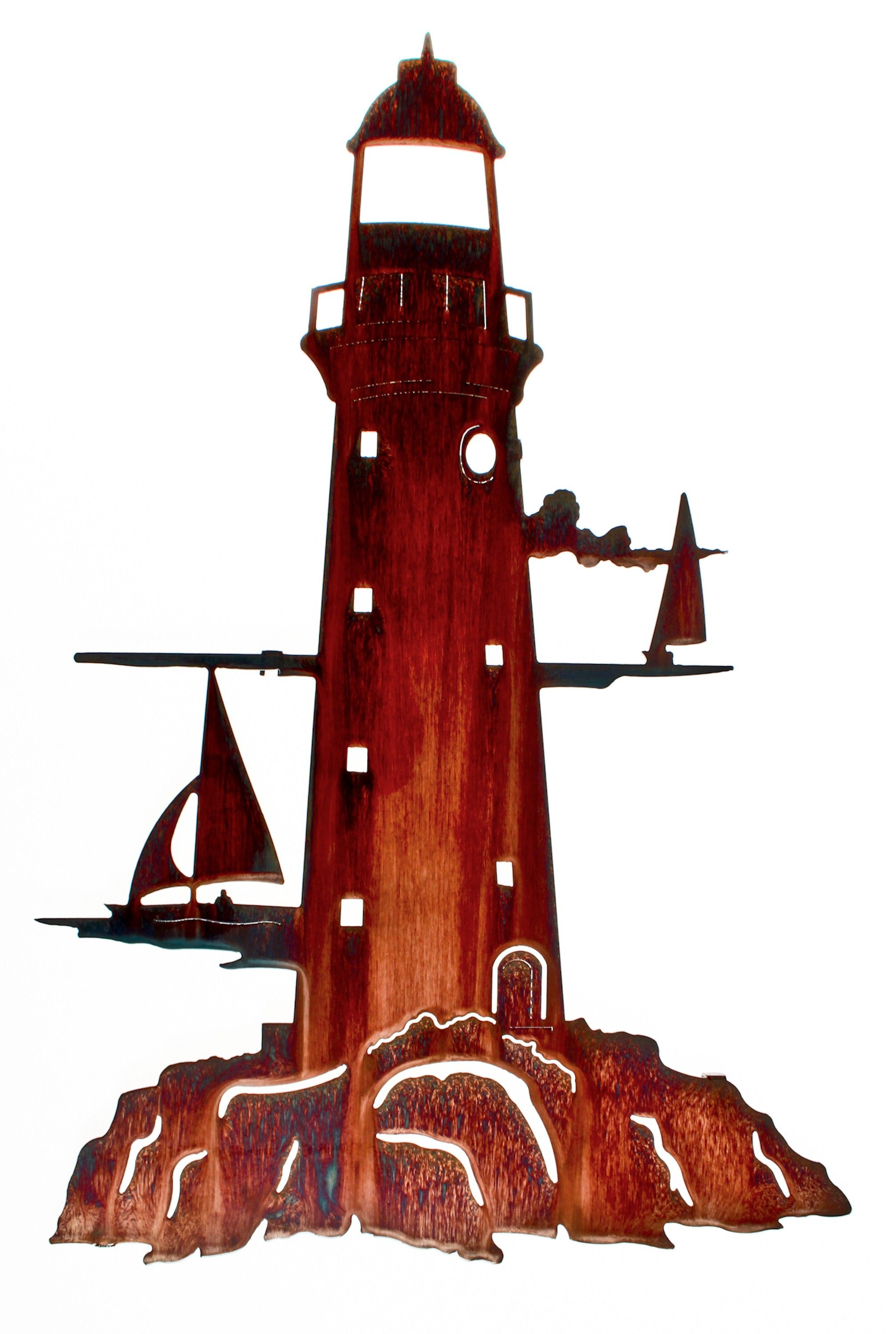 This Lighthouse Wall Art Is Perfect For Any E Coastal