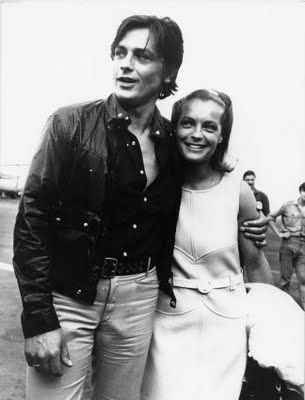 Romy Schneider And Alain Delon When We Lived In The Yukon And