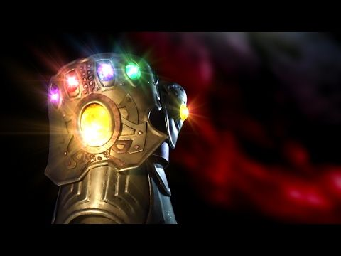 how to make the infinity gauntlet tutorial youtube cosplay