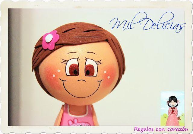 Mil Delicias: ♥ Fofucha Niña Delifú