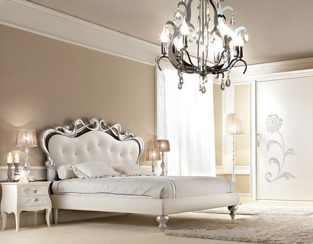 Best Upholstered Leather Double Bed Butterfly Glamour 640 x 480