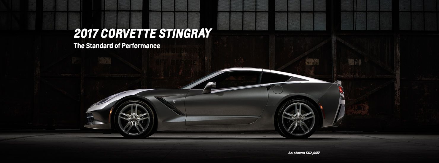 2017 Corvette Stingray Sports Car At Chevrolet Cadillac Of Santa Fe.  Www.chevroletofsantafe.