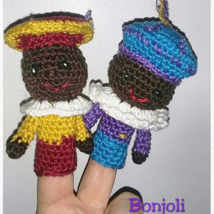 Pietjes Vingerpoppetjes Breien En Haken Pinterest Crochet