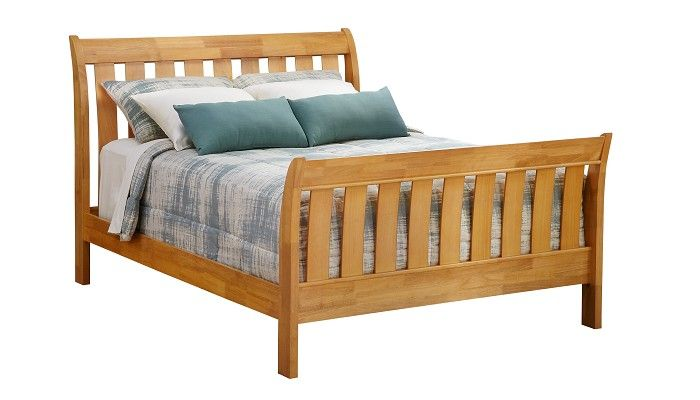 Slumberland Furniture   Bridgeport Collection   Maple Full Bedstead    Slumberland Furniture Stores And Mattress Stores